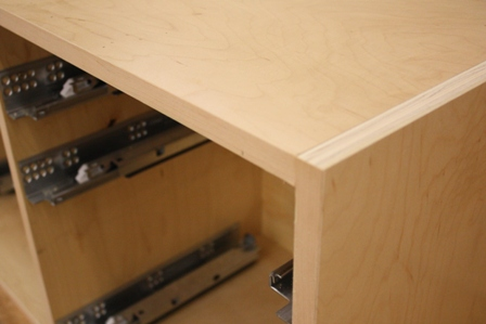 Prefinished plywood for cabinets prefinished or unfinished for Prefinished kitchen cabinets